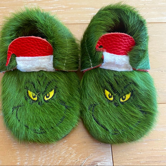 Shoes | Grinch Moccasins Toddler Size 5
